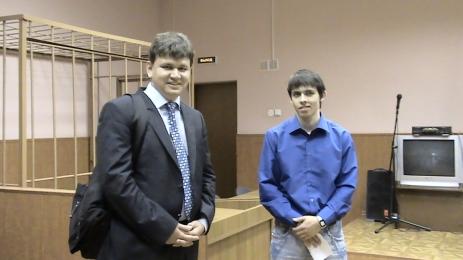 Сергей Голубок и Никита Конев