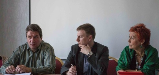 Сергей Кривенко, Алексанжр Передрук и Элла Полякова