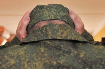 грабежа в воинской части