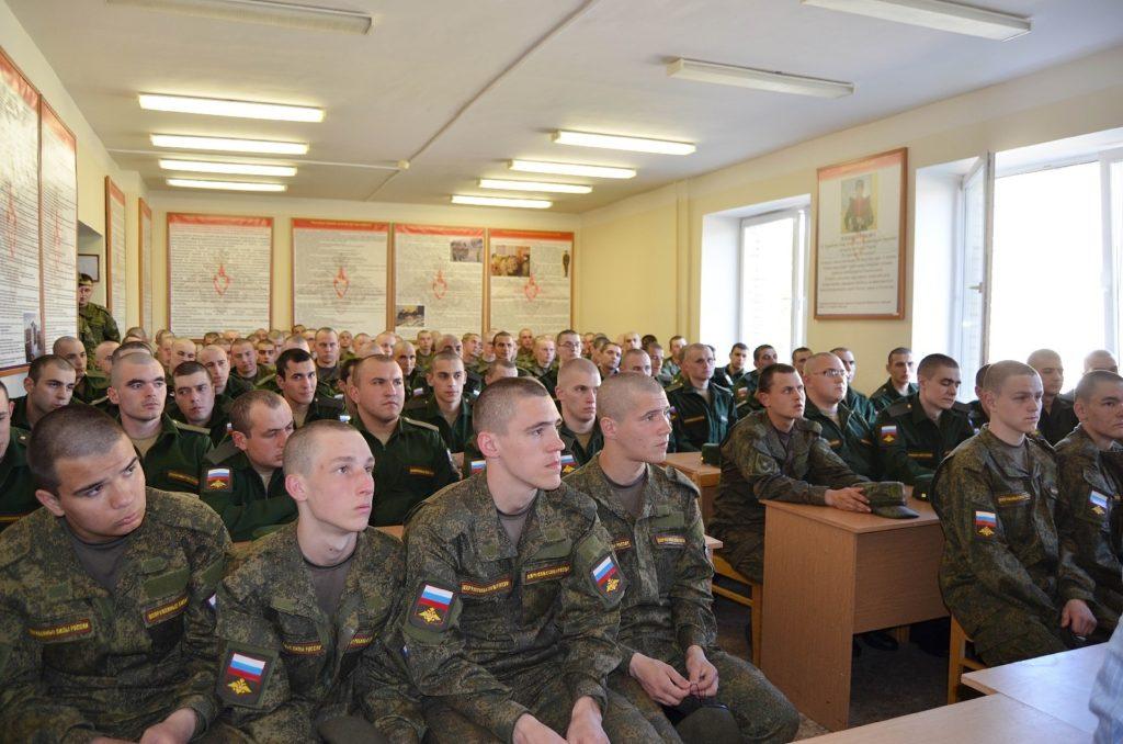 Правовое занятие для военнослужащих в/ч 02511 (поселок Каменка)