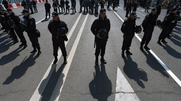 Армия России не работает на митингах - в отличие от полиции и Росгвардии